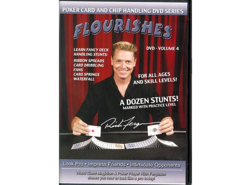 DVD Poker Chiptricks:  Flourishes Vol.4