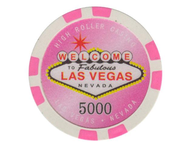 Highroller Chip 5000 11,5gr.