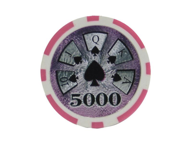 deLuxe Poker Chip 5000 ca. 13g