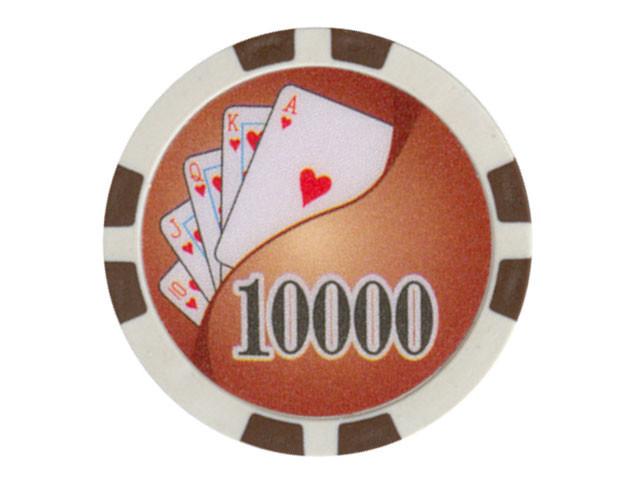 Royal Flush Chip Wert 10000, 11,5gr.