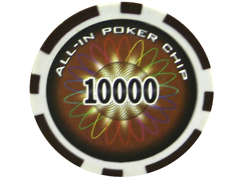 All In Chip 10000 ca. 13g