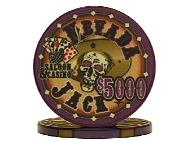 Nevada Jack Chip Violett 5000$