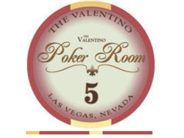 Valentino Ceramic Chip 5 rot