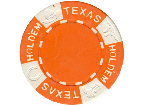 11.5g TEXAS HOLD'EM Clay - Chips, Orange