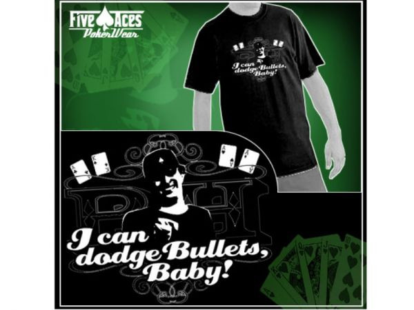 "T-Shirt PH ""I can dodge Bullets Baby"" Größe M"