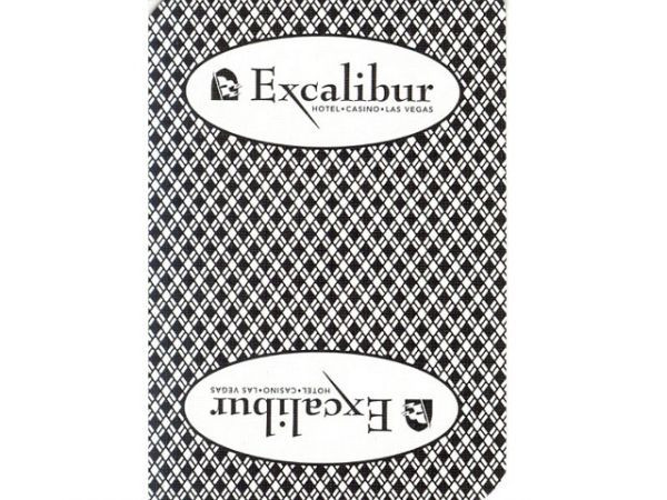Excalibur Playing Card