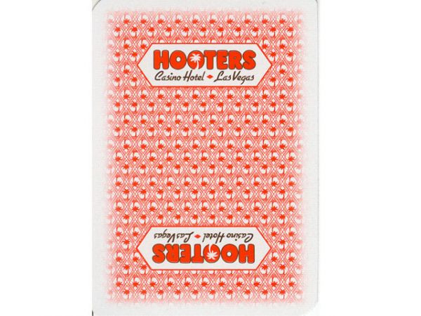 Hooters Playing Card