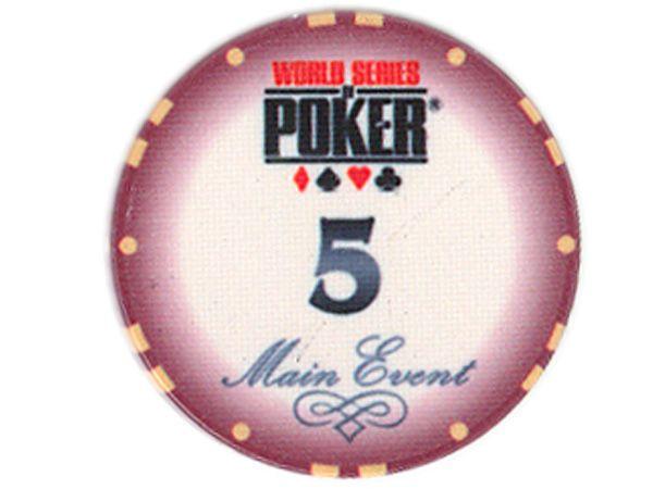 WSOP Ceramic-Chip Main Event 5 Brombeer