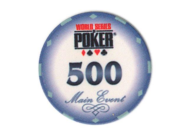 WSOP Ceramic-Chip Main Event 500 Heidelbeer