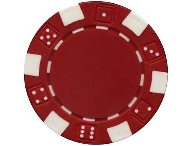 Dice Chip 11,5gr. Rot