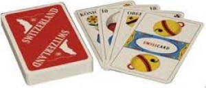 Jasskarten Matterhorn mit deutschen Kartensymbolen