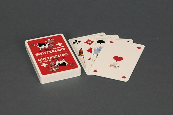 Jasskarten Kuh mit franz. Kartensymbolen
