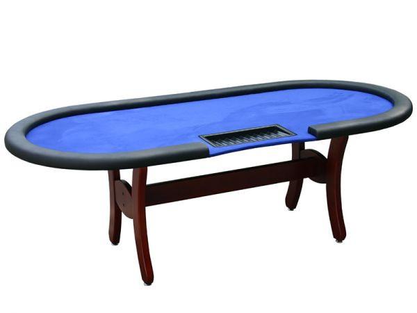 Pokertisch Tournament C Blau