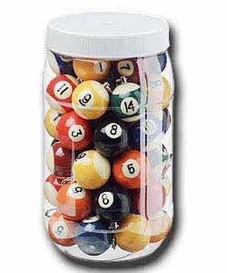 Schlüsselanhänger Poolball 35mm in versch. Farben und Nummern