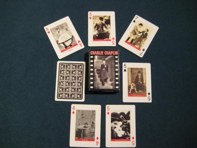 Charlie Chaplin Pokerkarten Pokerindex