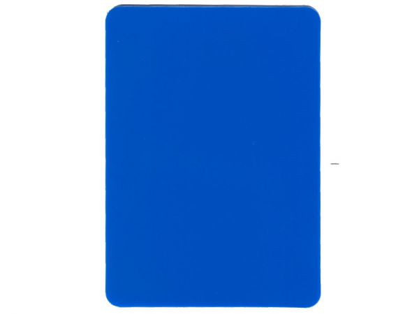 Cut Card Blau Pokersize