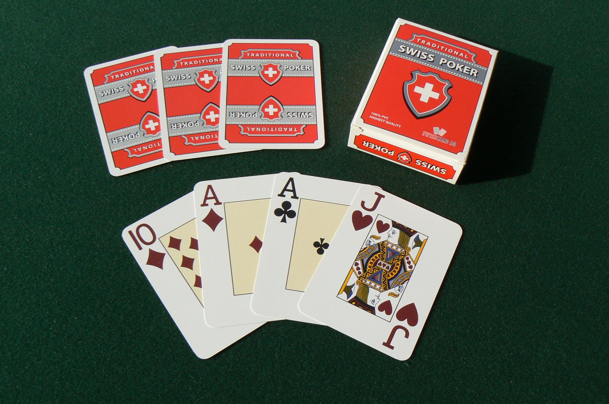 Modiano Plastikkarten Swiss Poker Edition Jumboindex