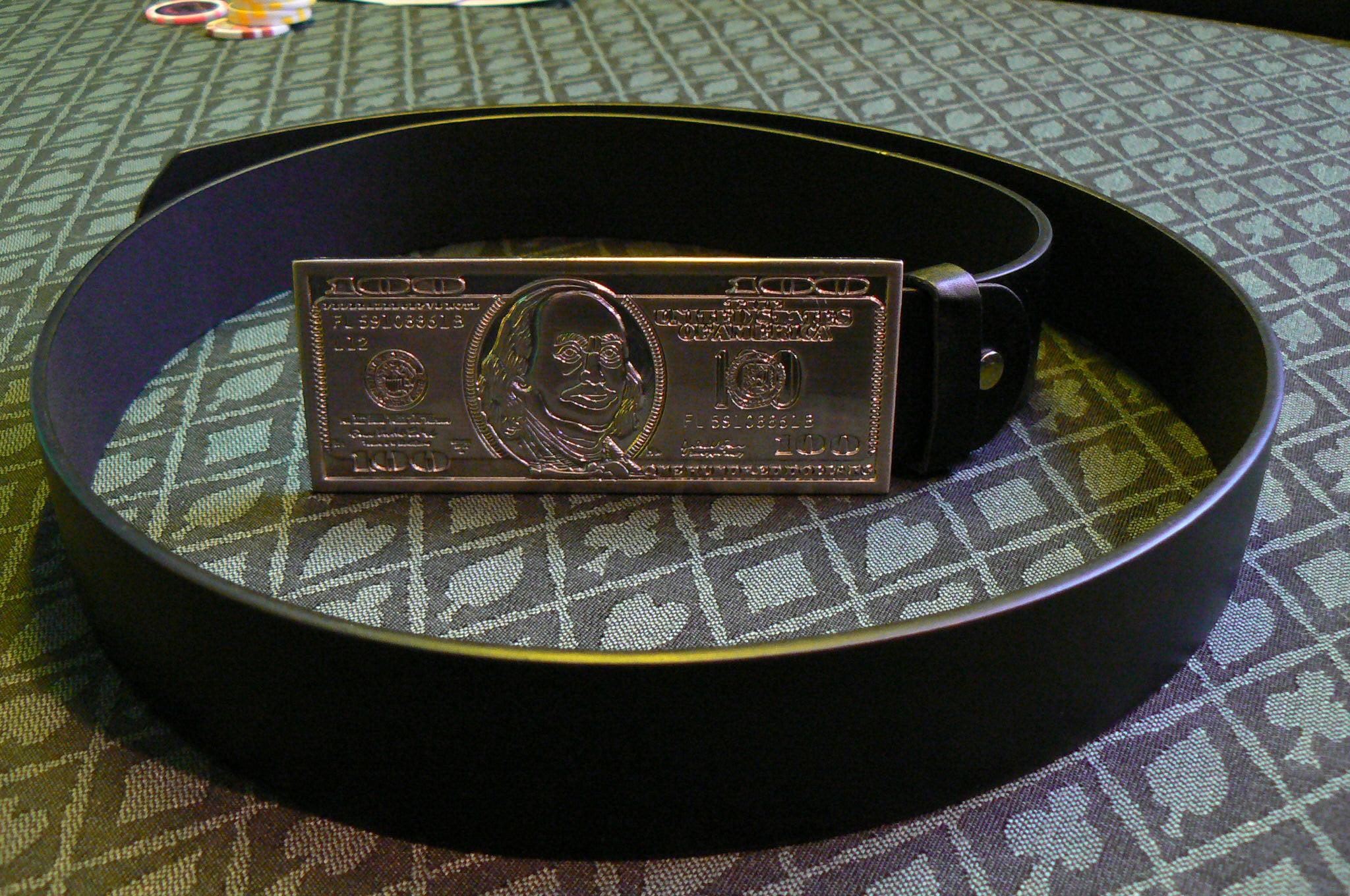 Gürtel 100 Dollar Länge ca. 110cm