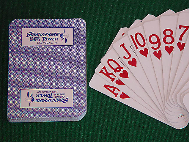 Stratosphere Playing Cards