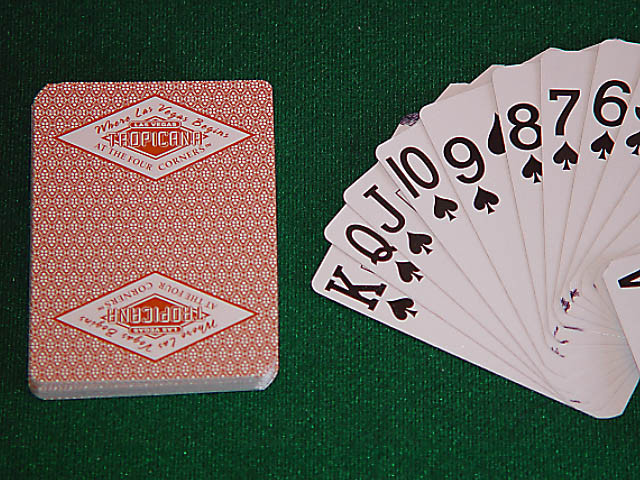 Tropicana Playing Cards