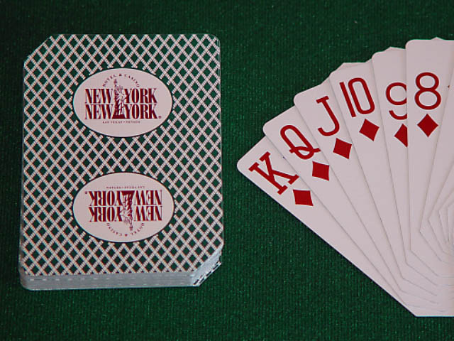 New York New York Playing Cards