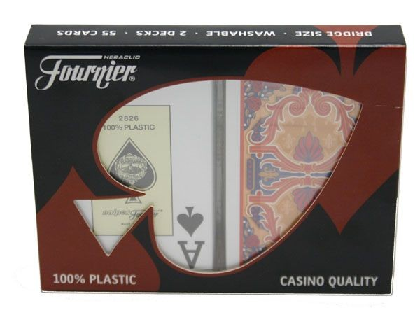 Fournier Rosas Bridgesize Doppelpack Jumboindex