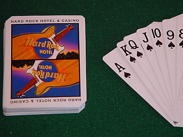 Hard Rock Playing Cards