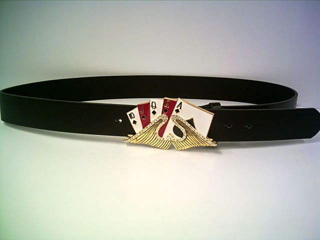 Pokergürtel Royal Flush Eagle mit Strass ca. 110