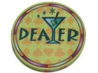 Pokertini Lounge Ceramic Chip Dealer