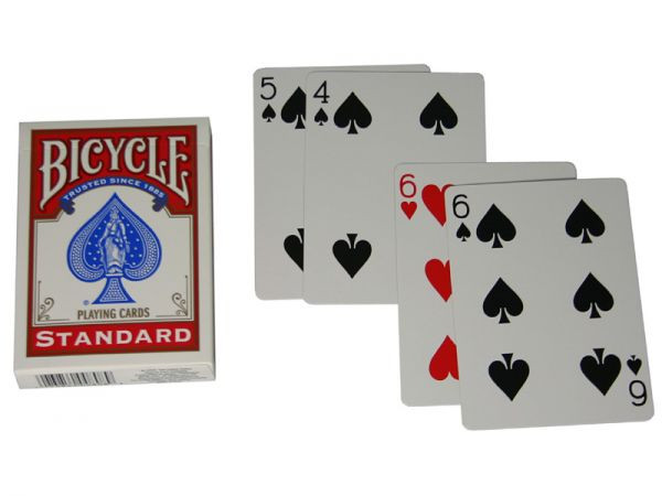 Bicycle Rider Back Magic Cards Standard Face/Face