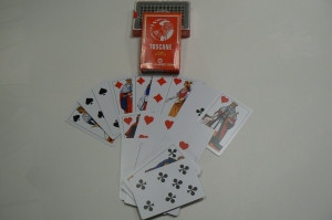 Toscane Karten 100% Plastik