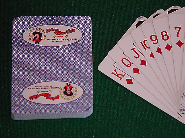 Arizona Charlies Playing Cards