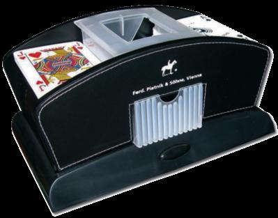 Card Shuffler Kartenmischer von Piatnik Batteriebetrieben