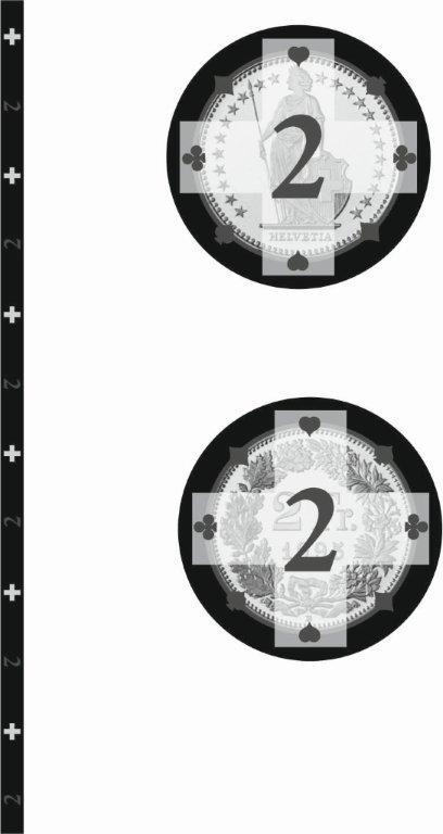 Swiss Edition Ceramic Chips Fr. 2.00