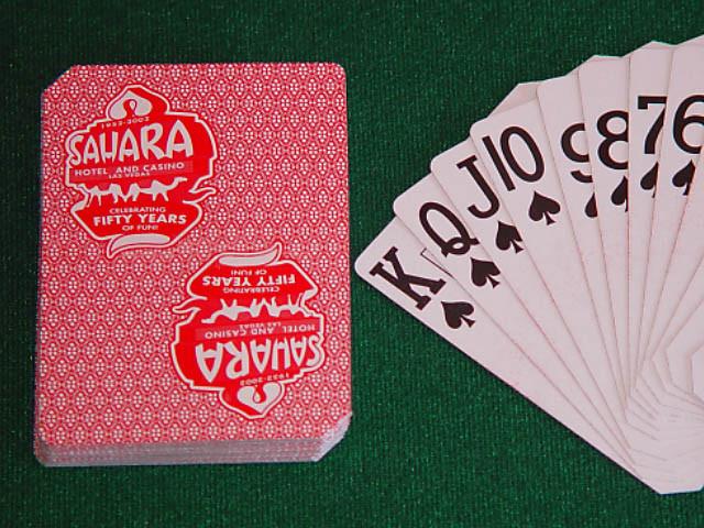 Sahara Playing Cards