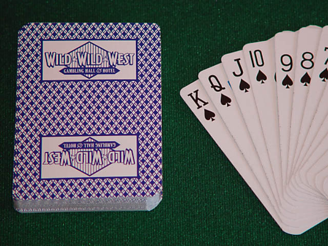 Wild Wild West Playing Cards