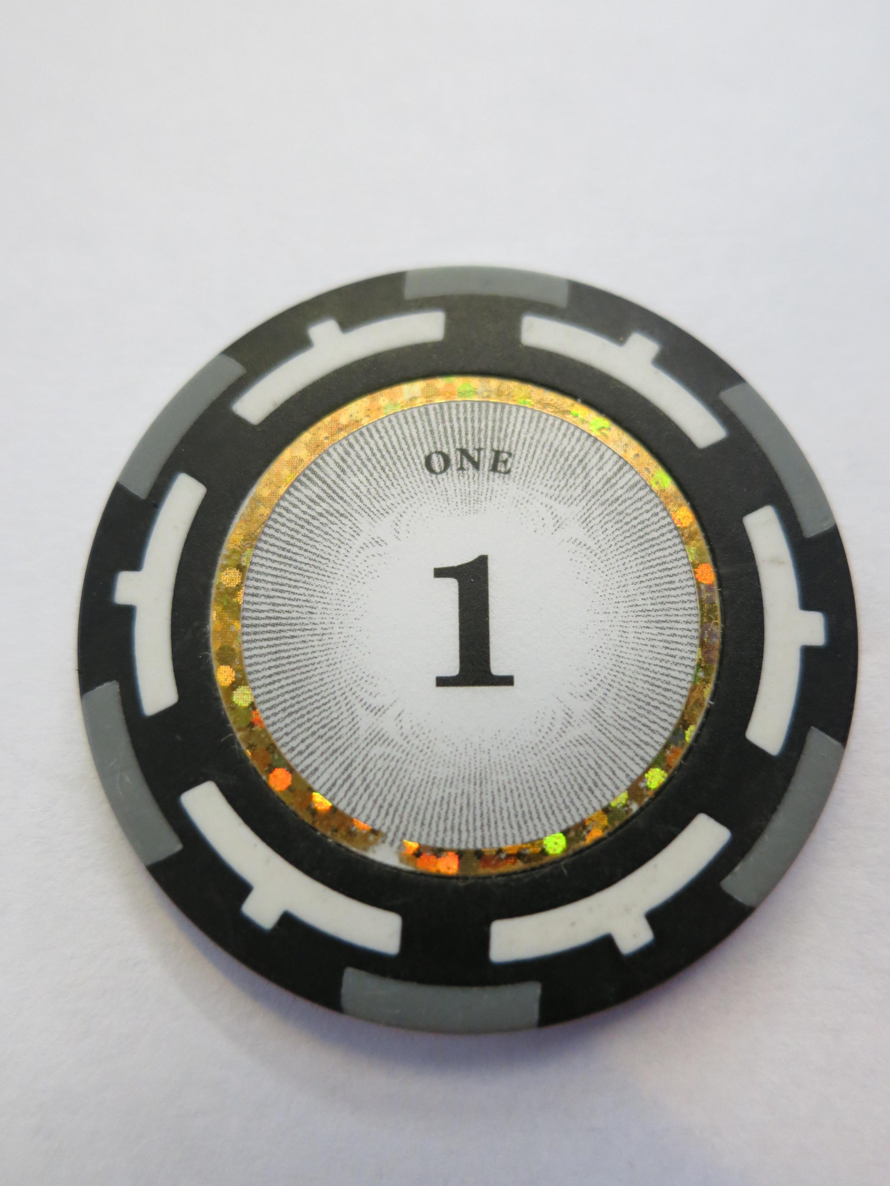 Vision Clay Chips 1er grau 14g