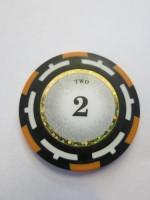 Vision Clay Chips 2er orange 14g