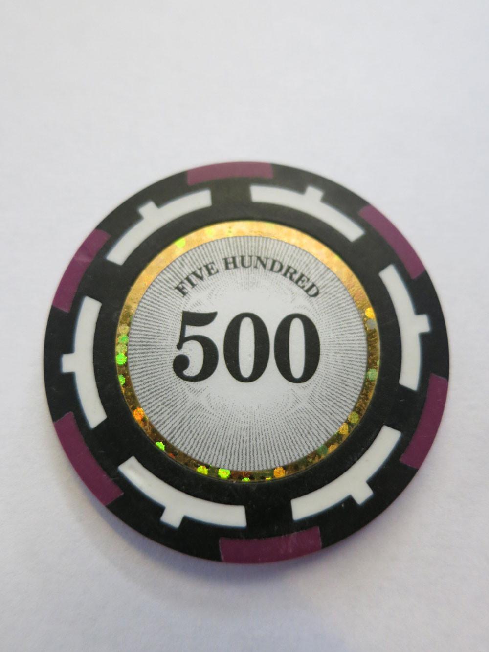 Vision Clay Chips 500er violett 14g