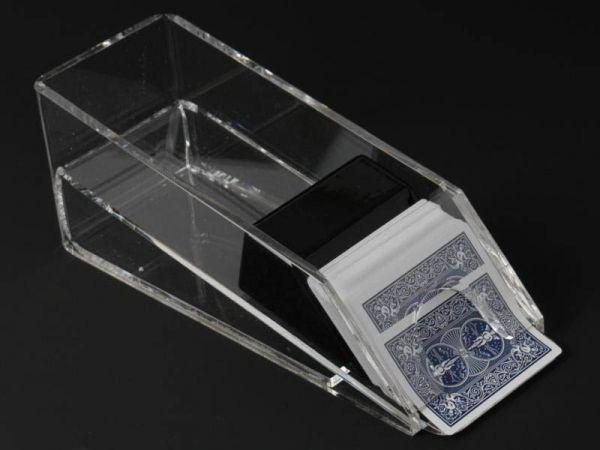 8 Deck Kartenschlitten Acryl