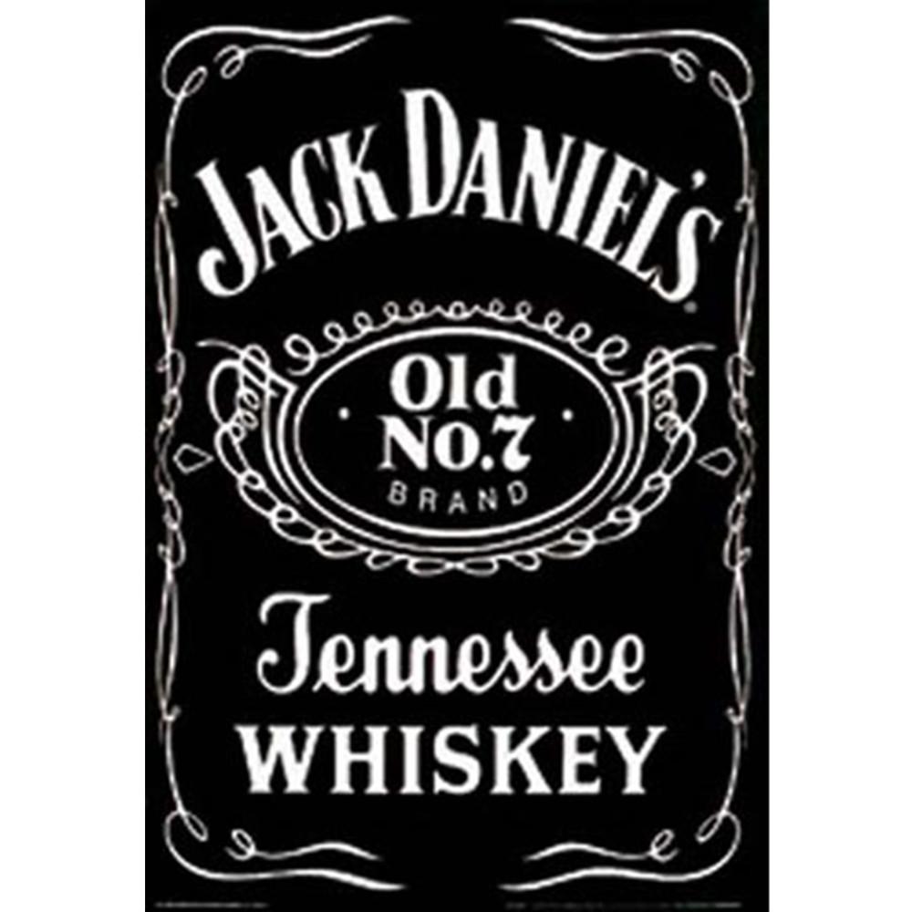 Jack Daniels Label Poster
