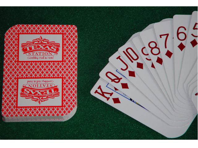 Texas Station Playing Cards