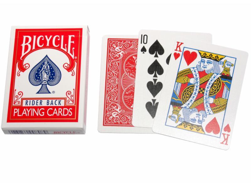 Bicycle Pokerkarten Rot 808R kleiner Index