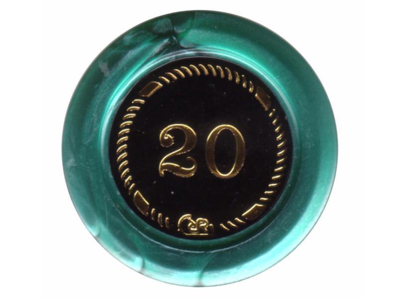 Prestige Jeton Grün Value 20