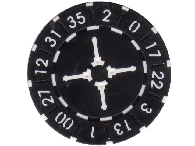 Wheel Chip 11,5gr. Schwarz