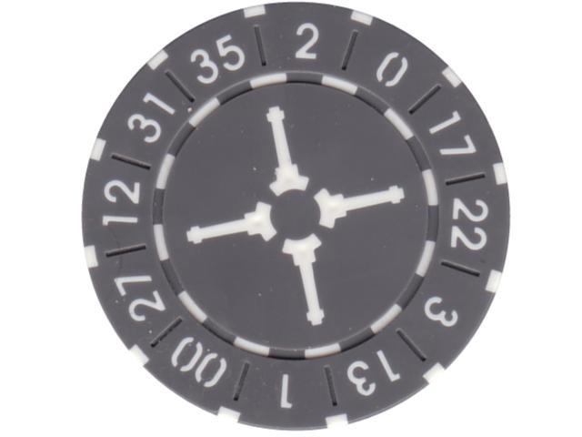 Wheel Chip 11,5gr. Grau