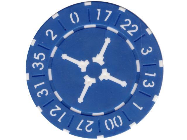 Wheel Chip 11,5gr. Blau