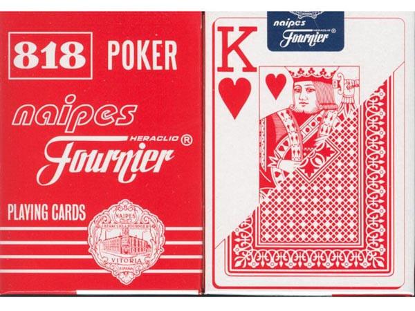 Fournier 818 Spielkarten Rot