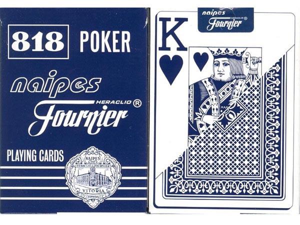 Fournier 818 Spielkarten Blau