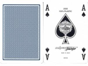Fournier 2500 Plastikkarten Blau kleiner Index